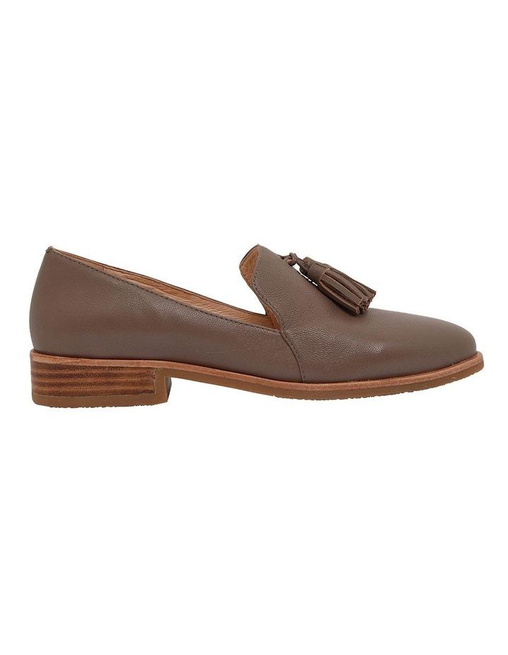 Salvador Taupe Glove Flat Shoes image 1