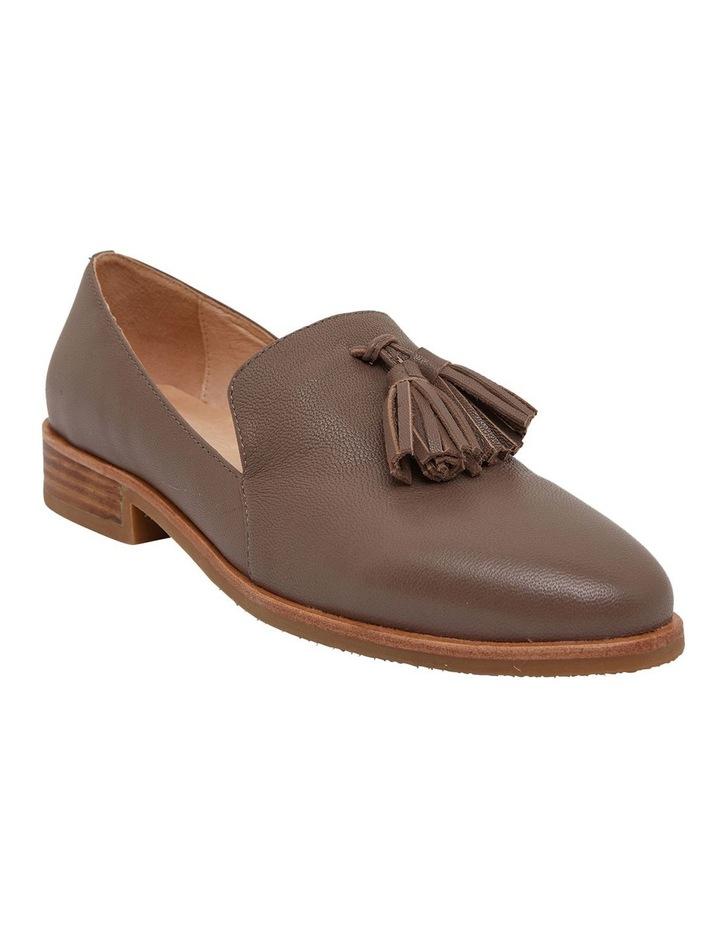 Salvador Taupe Glove Flat Shoes image 2