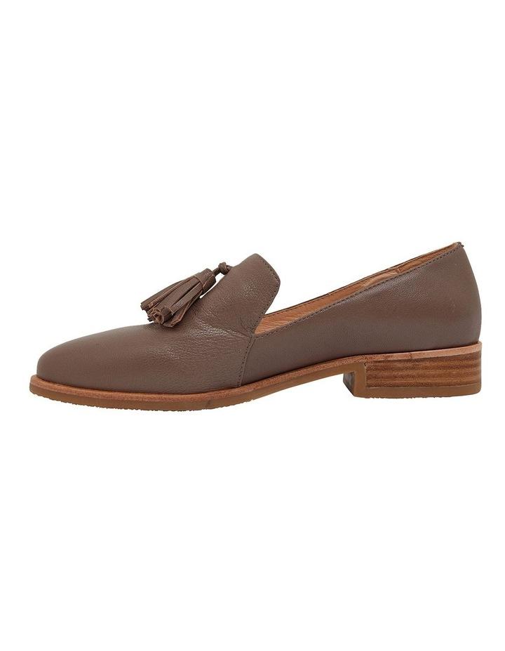 Salvador Taupe Glove Flat Shoes image 3
