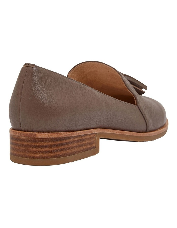 Salvador Taupe Glove Flat Shoes image 4