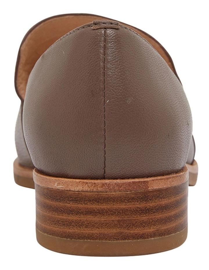 Salvador Taupe Glove Flat Shoes image 5