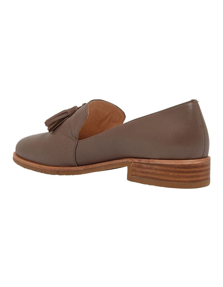 Salvador Taupe Glove Flat Shoes image 7