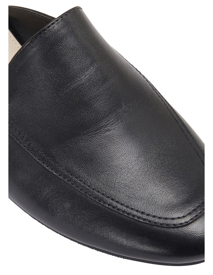 Talent Black Glove Flat Shoes image 4