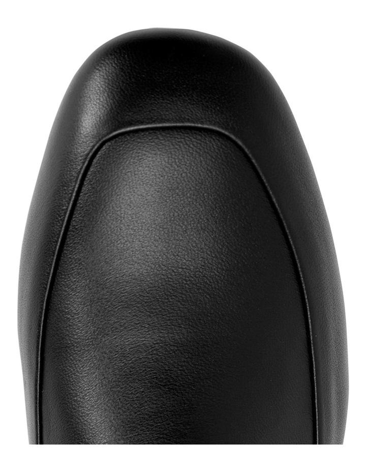 Fifi Black Glove Flat Shoes image 3