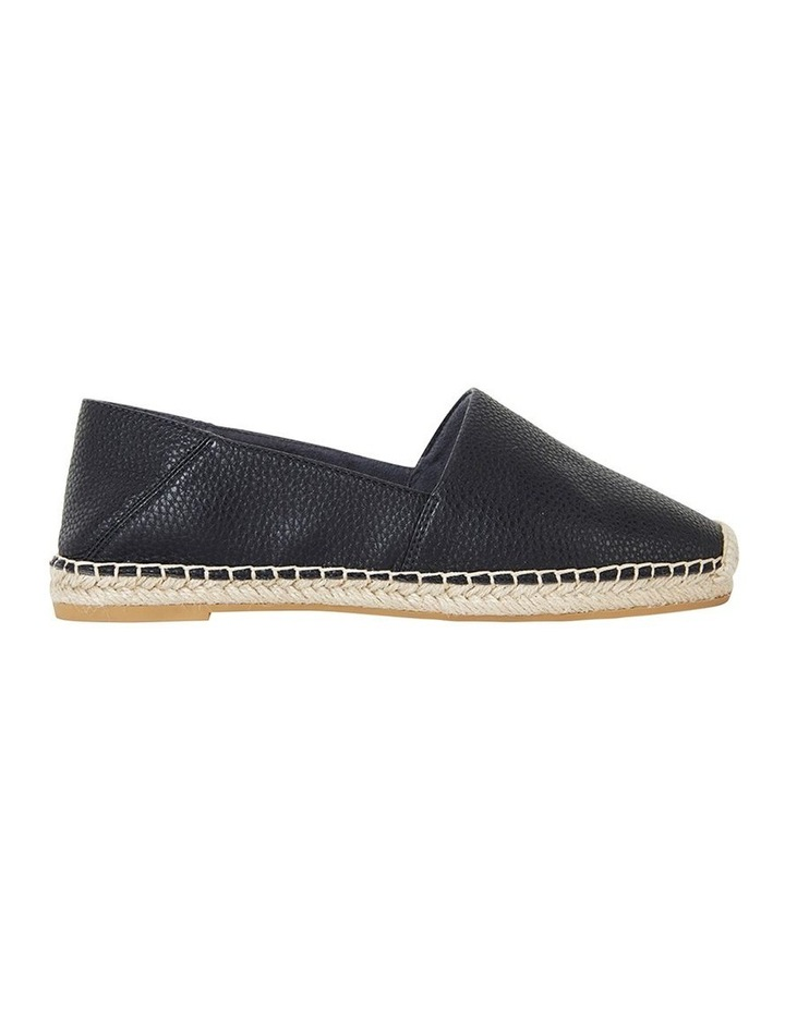 Bella Black Pebble Flat Shoe image 1