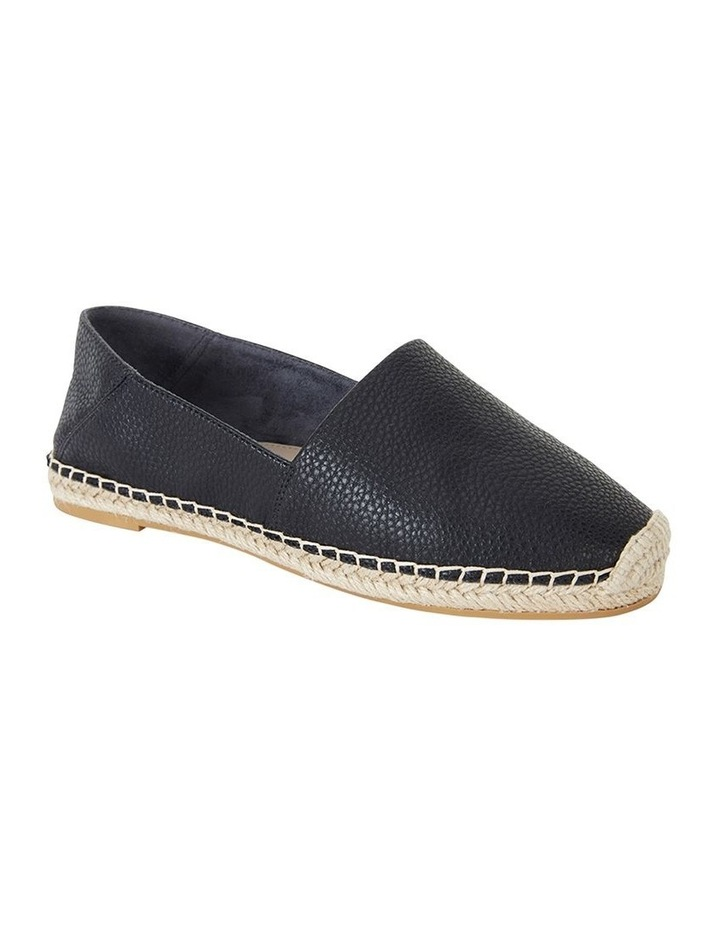 Bella Black Pebble Flat Shoe image 2