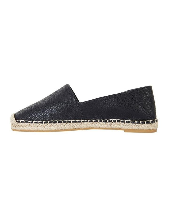 Bella Black Pebble Flat Shoe image 3