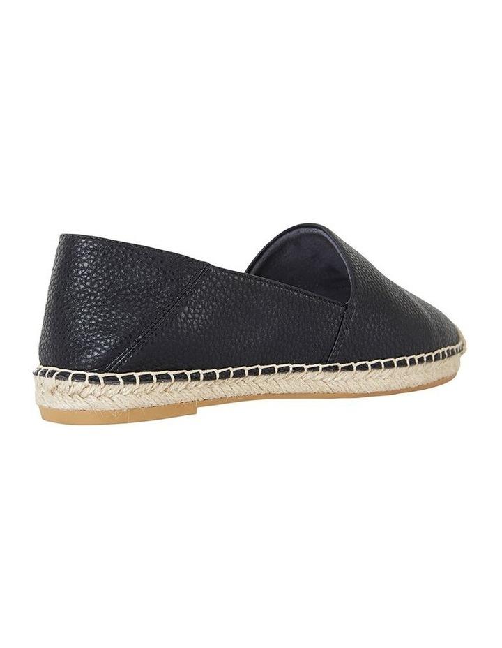 Bella Black Pebble Flat Shoe image 4