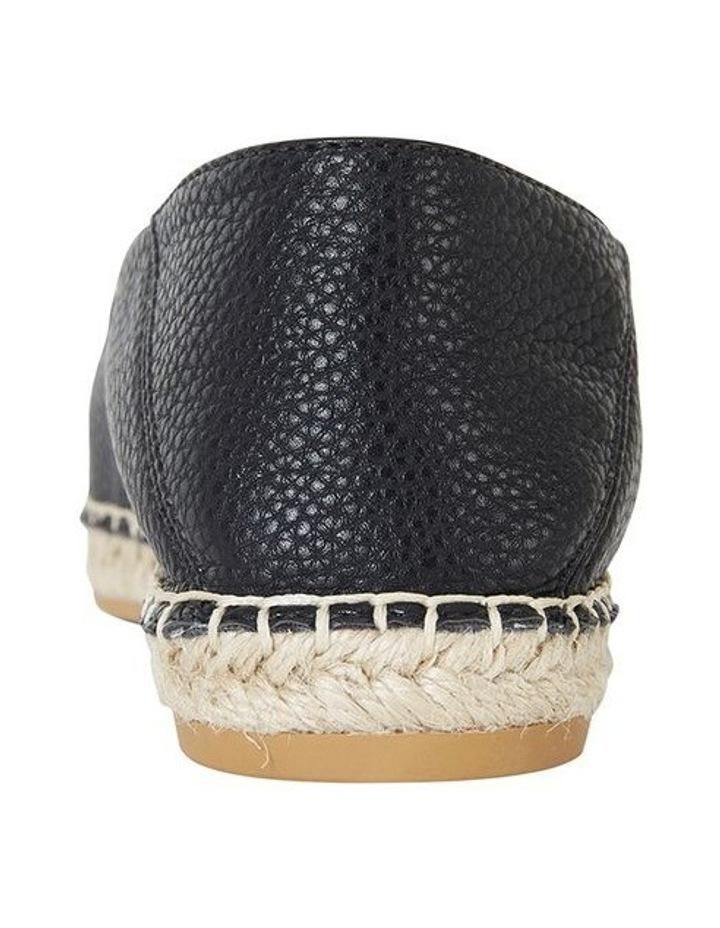 Bella Black Pebble Flat Shoe image 5