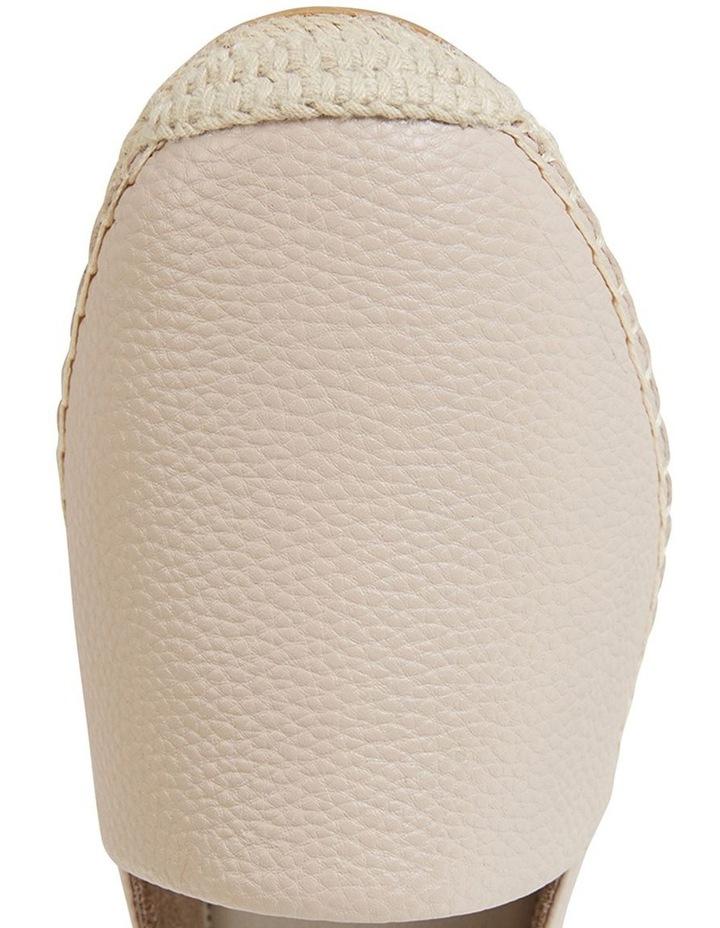 Bella Nude Pebble Flat Shoe image 7