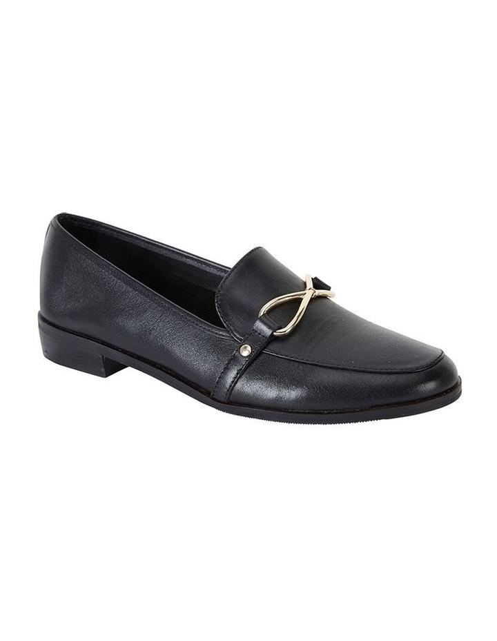 Tally Black Glove Flat Shoe image 2