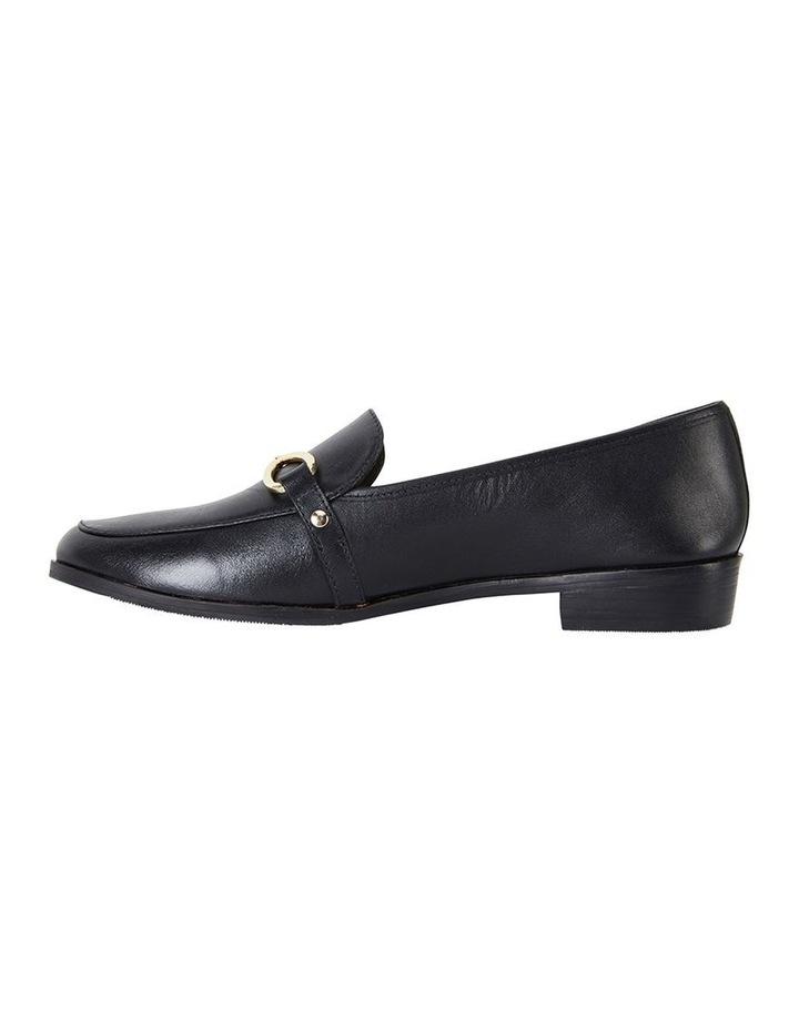 Tally Black Glove Flat Shoe image 3