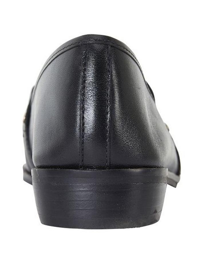 Tally Black Glove Flat Shoe image 5