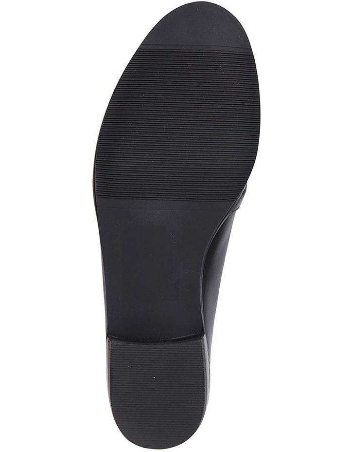Tally Black Glove Flat Shoe image 6