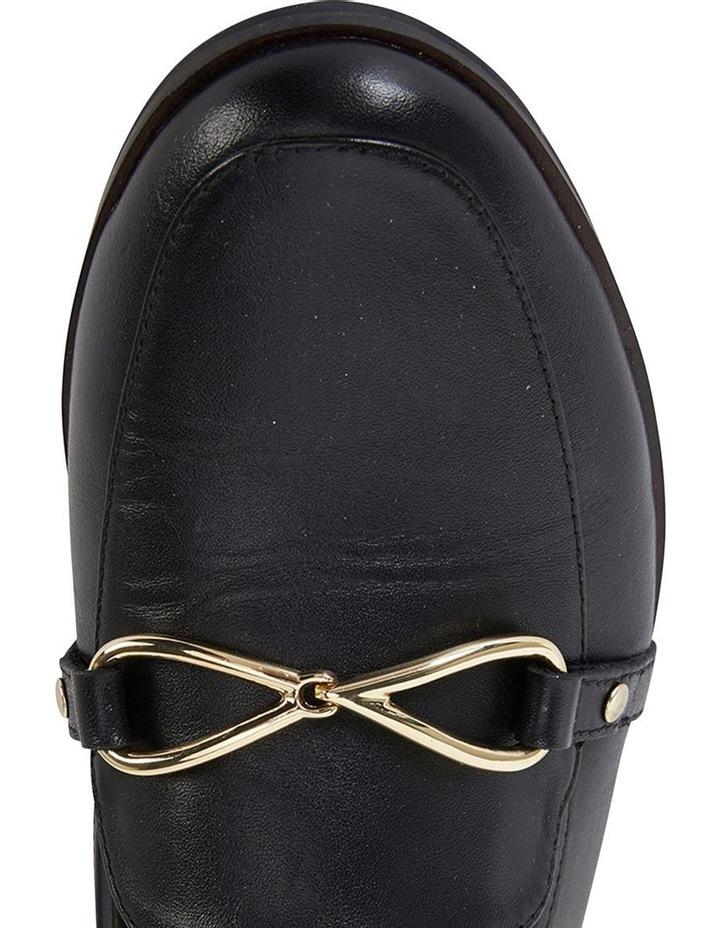 Tally Black Glove Flat Shoe image 7