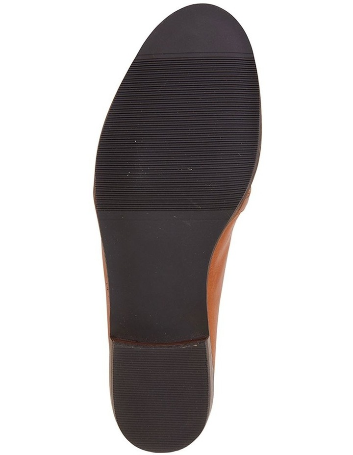 Tally Cognac Glove Flat Shoe image 5