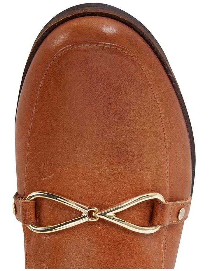 Tally Cognac Glove Flat Shoe image 6