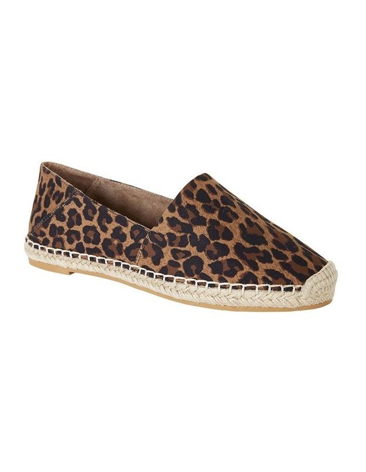 Bella Animal Fabric Flat Shoe image 2