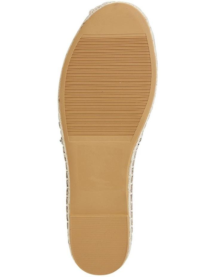 Bella Animal Fabric Flat Shoe image 5