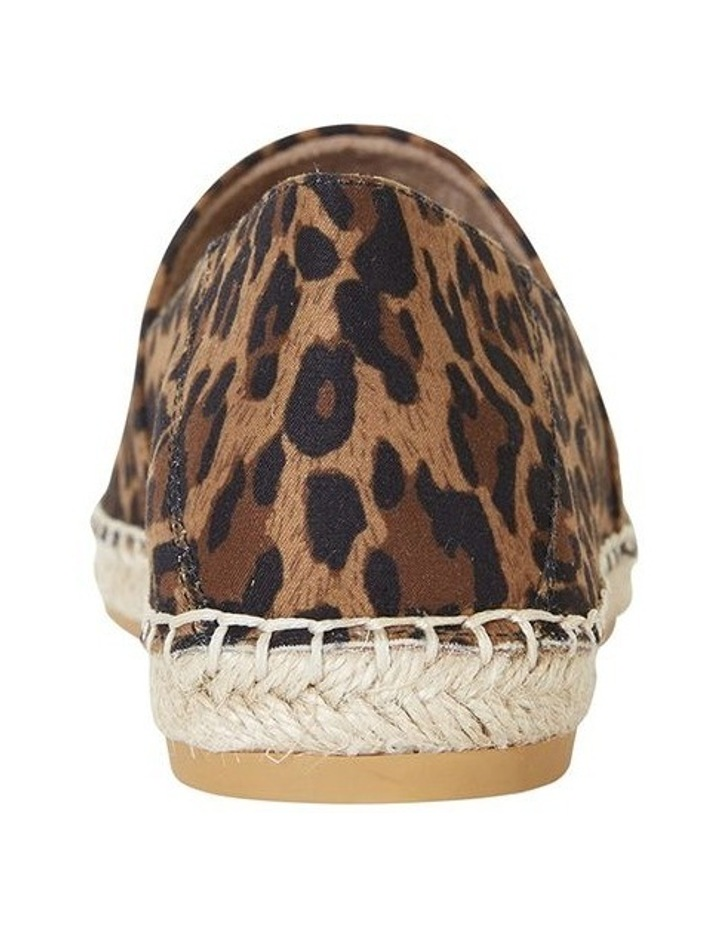 Bella Animal Fabric Flat Shoe image 6