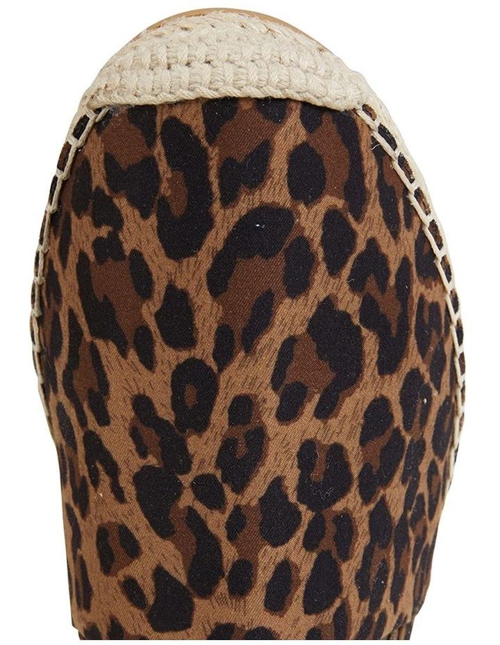 Bella Animal Fabric Flat Shoe image 7