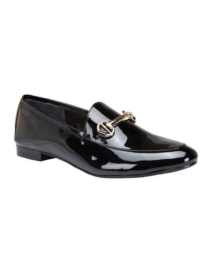 Tabloid Black Patent Flat Shoe image 2