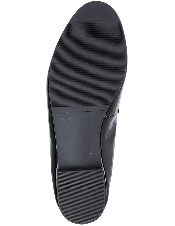 Tabloid Black Patent Flat Shoe image 7