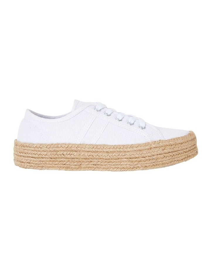 Static White Canvas Sneaker image 1