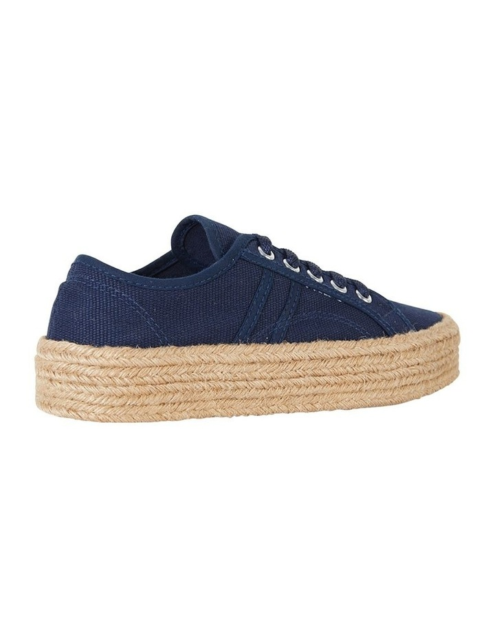 Static Navy Canvas Sneaker image 4