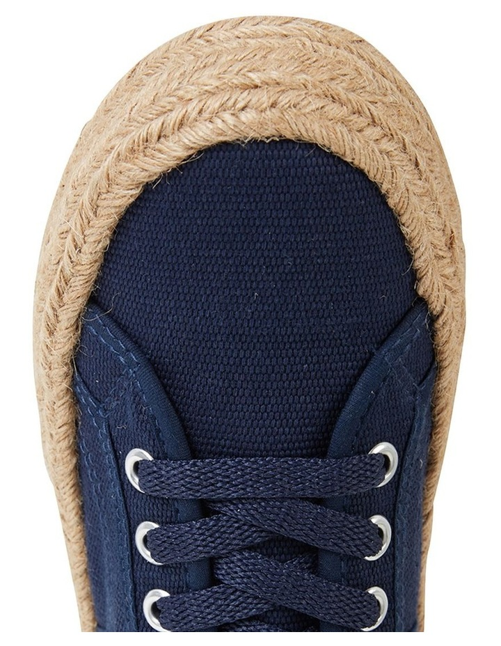 Static Navy Canvas Sneaker image 6