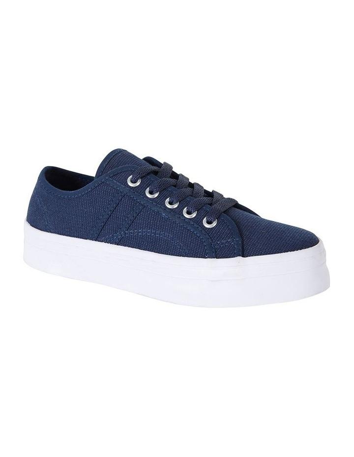 Sandler Scott Navy Canvas Sneaker image 2