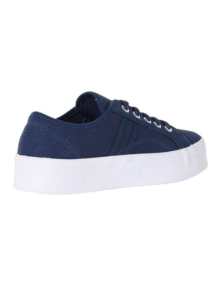 Sandler Scott Navy Canvas Sneaker image 4
