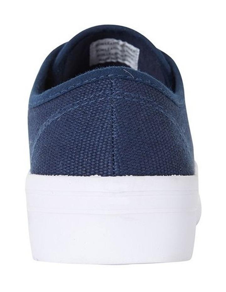 Sandler Scott Navy Canvas Sneaker image 6