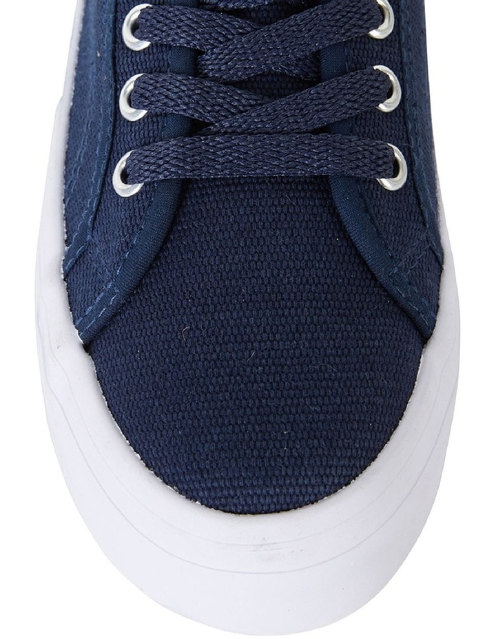 Sandler Scott Navy Canvas Sneaker image 7
