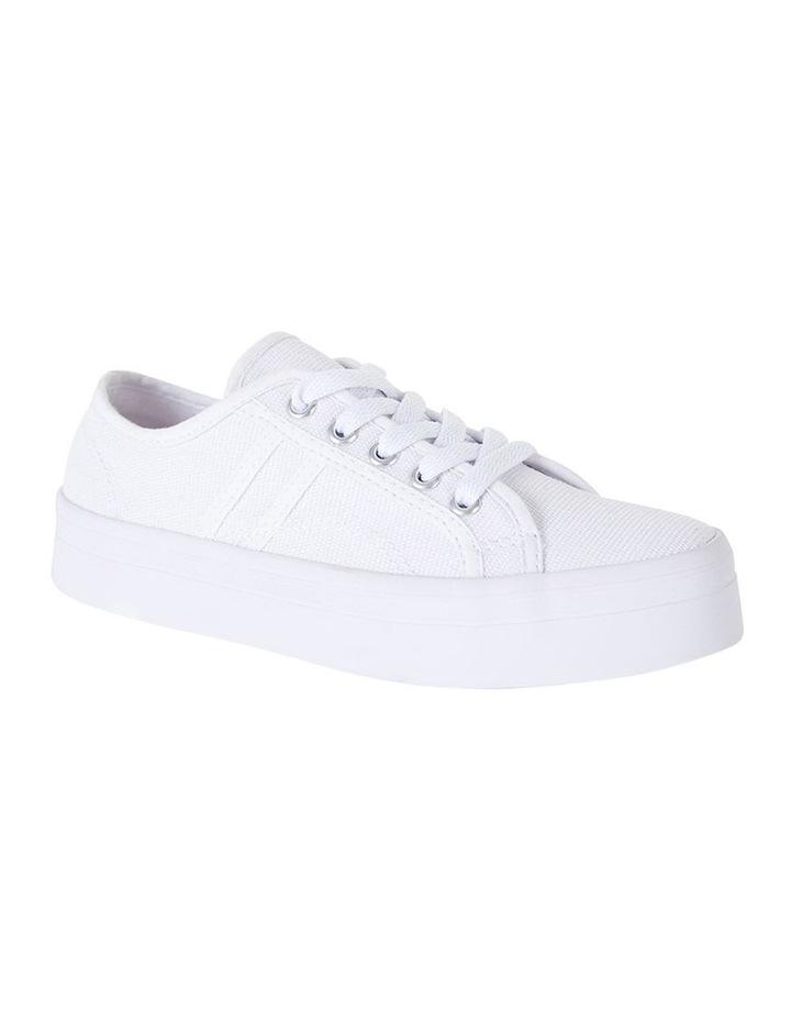 Sandler Scott White Canvas Sneaker image 2