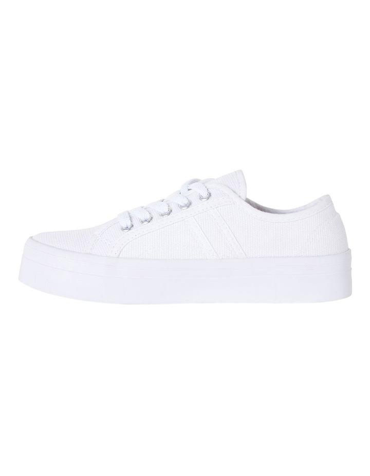 Sandler Scott White Canvas Sneaker image 3