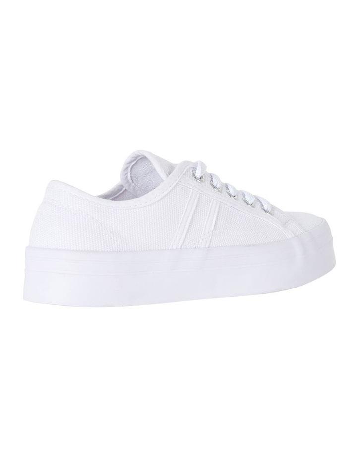 Sandler Scott White Canvas Sneaker image 4