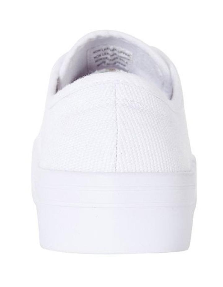 Sandler Scott White Canvas Sneaker image 6