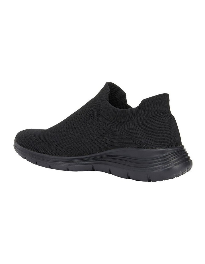 Woods Black Sole/ Black Weave Sneaker image 4