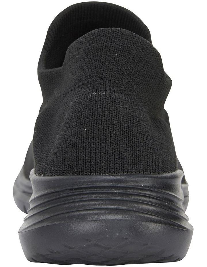 Woods Black Sole/ Black Weave Sneaker image 7