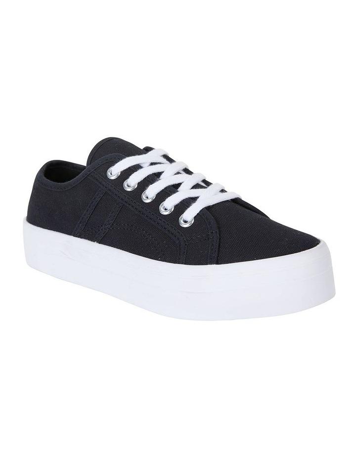 Scott Black Canvas Sneaker image 2