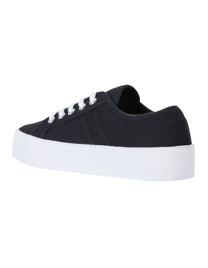 Scott Black Canvas Sneaker image 4