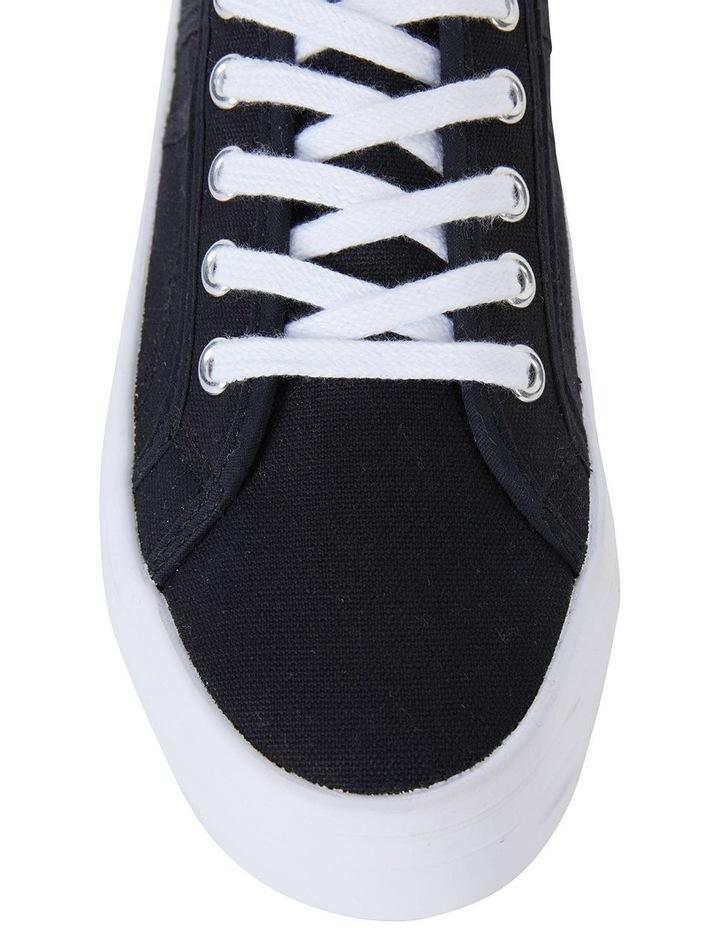 Scott Black Canvas Sneaker image 5