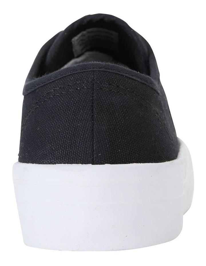 Scott Black Canvas Sneaker image 7