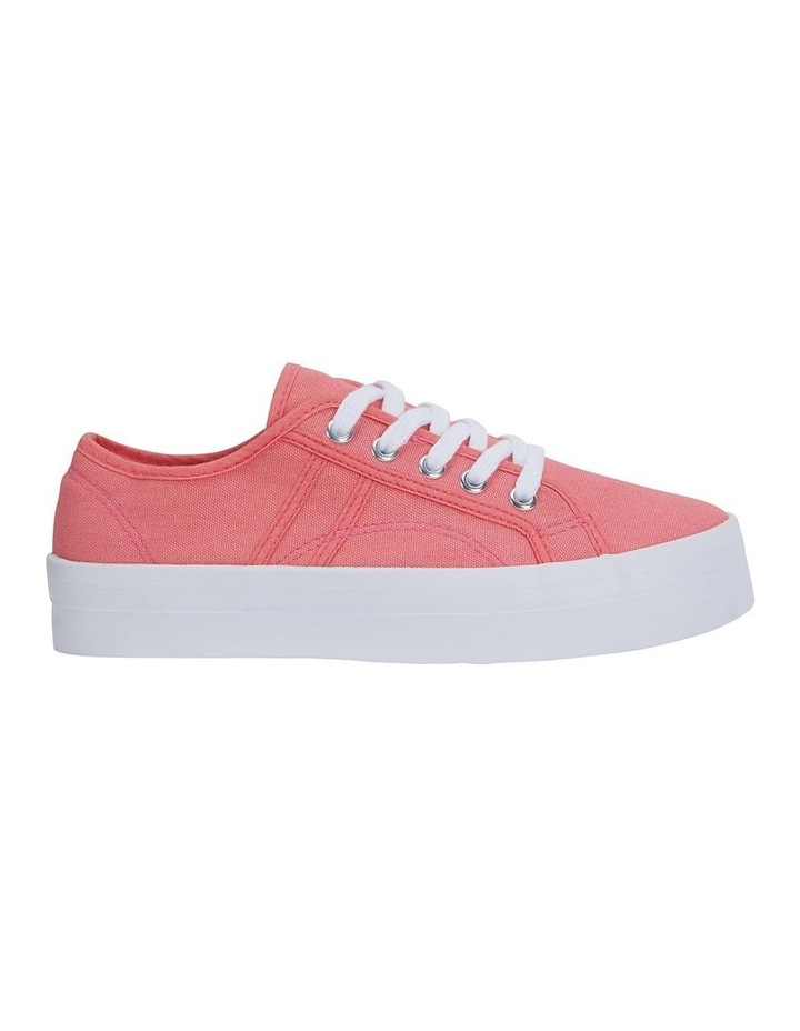 Scott Coral Canvas Sneaker image 1