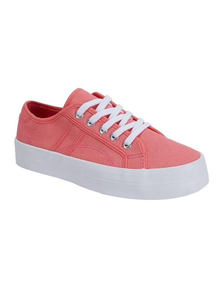 Scott Coral Canvas Sneaker image 2