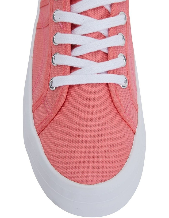Scott Coral Canvas Sneaker image 5