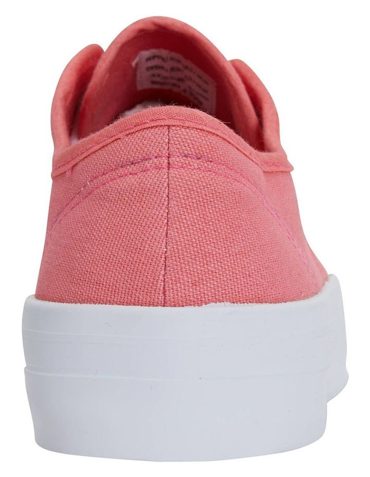 Scott Coral Canvas Sneaker image 7