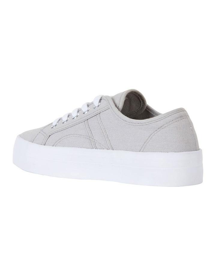Scott Grey Canvas Sneaker image 4