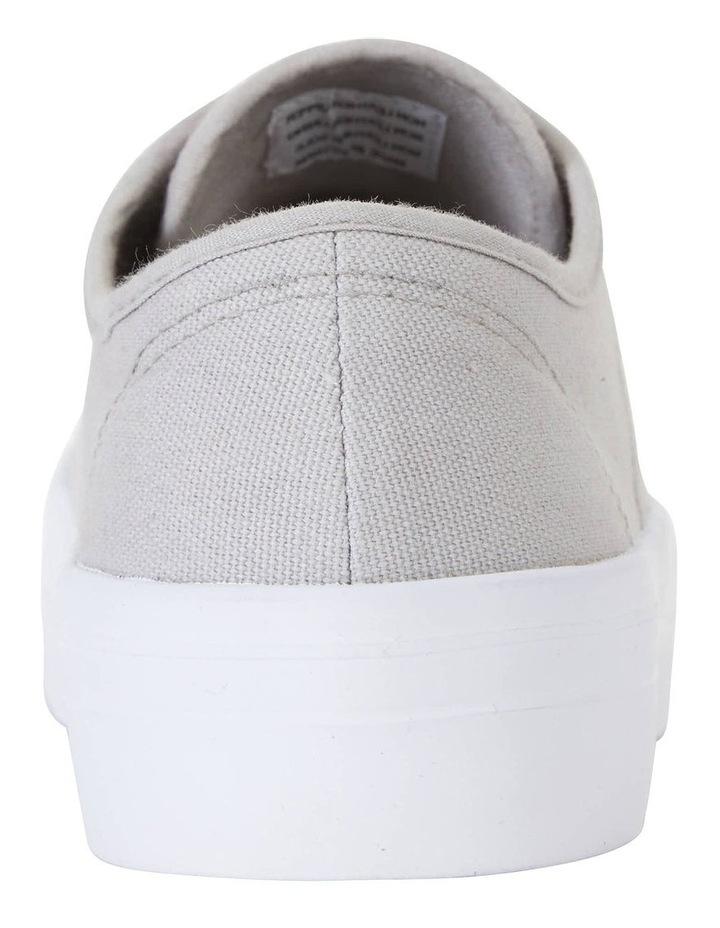 Scott Grey Canvas Sneaker image 7